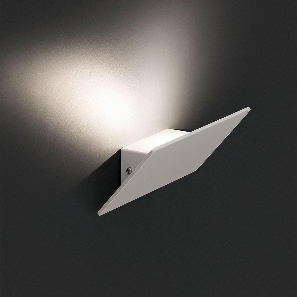 Applique led en aluminium, blanche, éclairage vers le haut. lampe ...