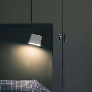 Applique chambre blanche LED moderne