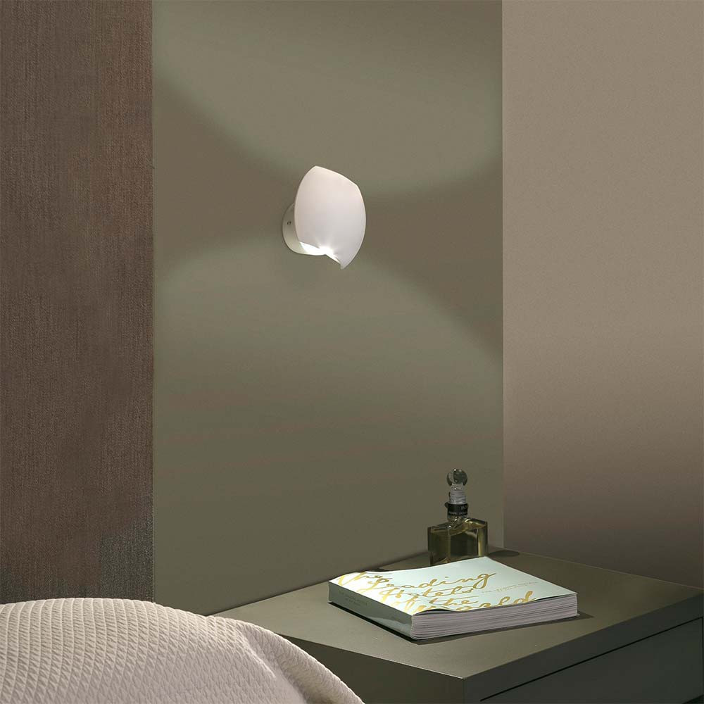 applique de chevet design blanche led d couvrir sur lampe avenue. Black Bedroom Furniture Sets. Home Design Ideas