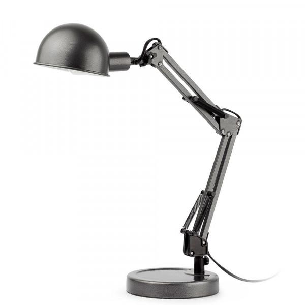Lampe Bureau Grise Articulee Style Industriel En Vente Sur Lampe