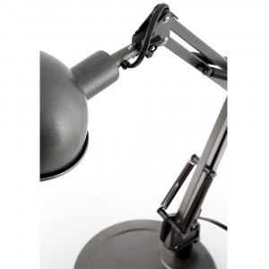 lampe bureau grise articul e style industriel en vente sur lampe avenue. Black Bedroom Furniture Sets. Home Design Ideas
