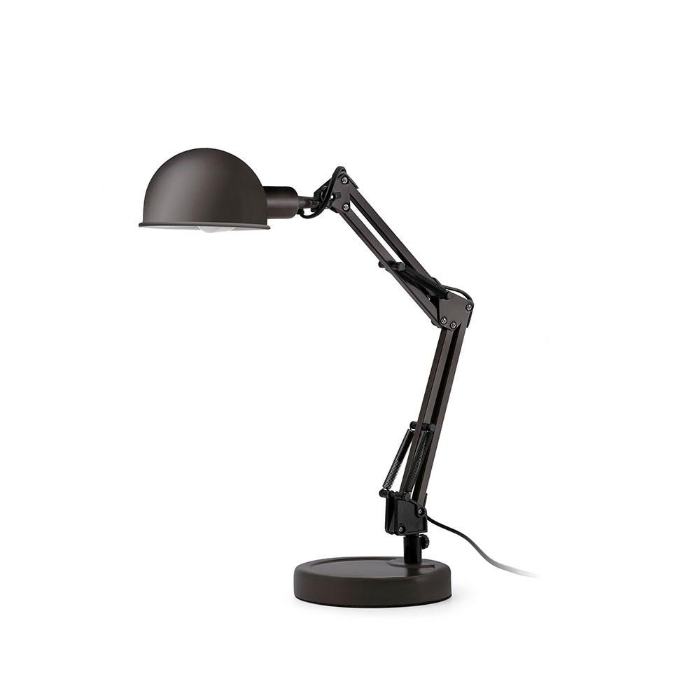 style loft pour cette lampe de bureau noire articul e lampe avenue. Black Bedroom Furniture Sets. Home Design Ideas