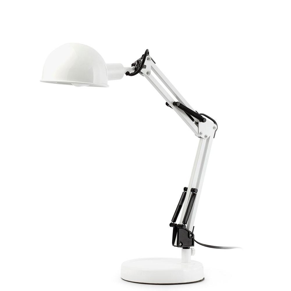 Lampe blanche articul e pour bureau en vente sur lampe avenue - Lampe bureau blanche ...