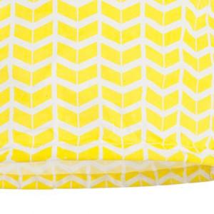 Suspension coton jaune