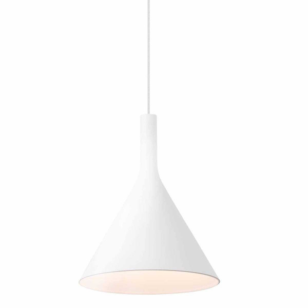 Suspension blanche led cuisine