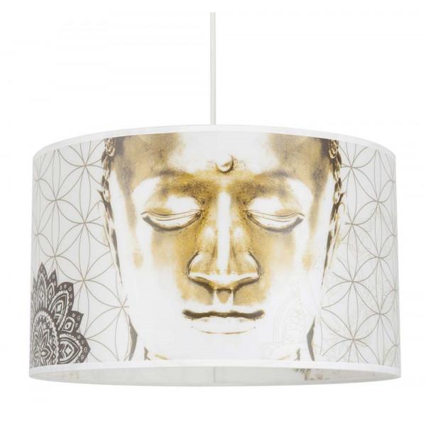 Suspension zen avec Bouddha - Luminaire tendance sur Lampe-Avenue