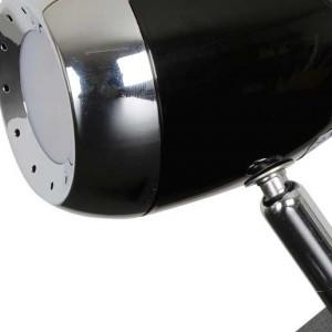 Lampe pince led noire