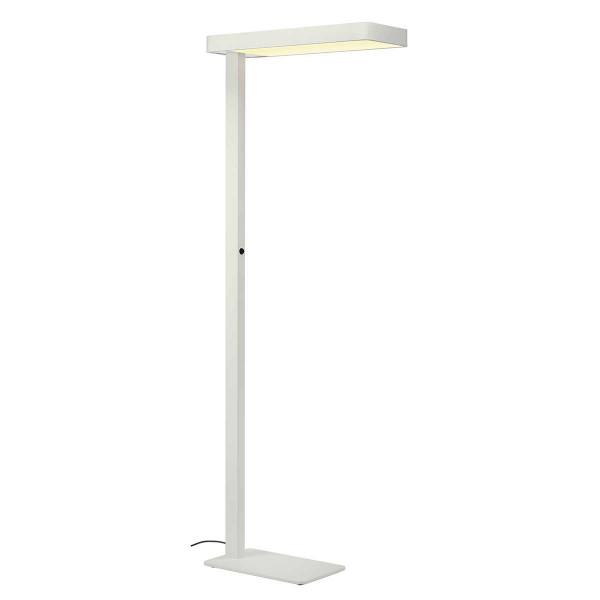 Lampadaire de bureau blanc LED