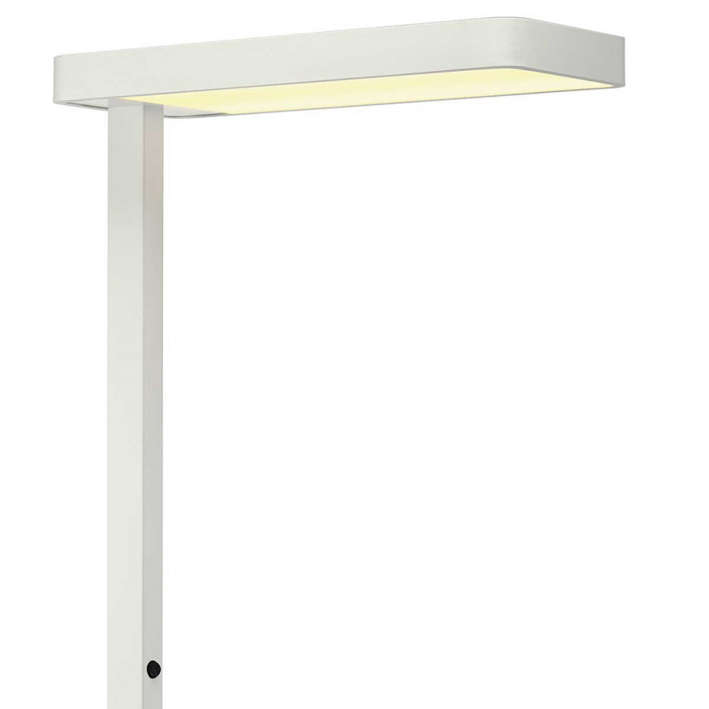 Lampadaire de bureau blanc led au design moderne lampe - Lampe de bureau professionnel ...