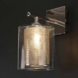 Applique moderne métal verre