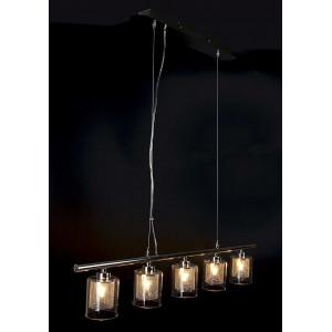 Suspension 5 lampes