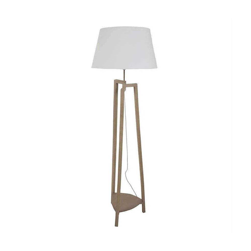 Lampe castorama suspension for Lampe suspension en bois