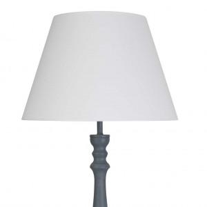 Lampadaire salon bois gris