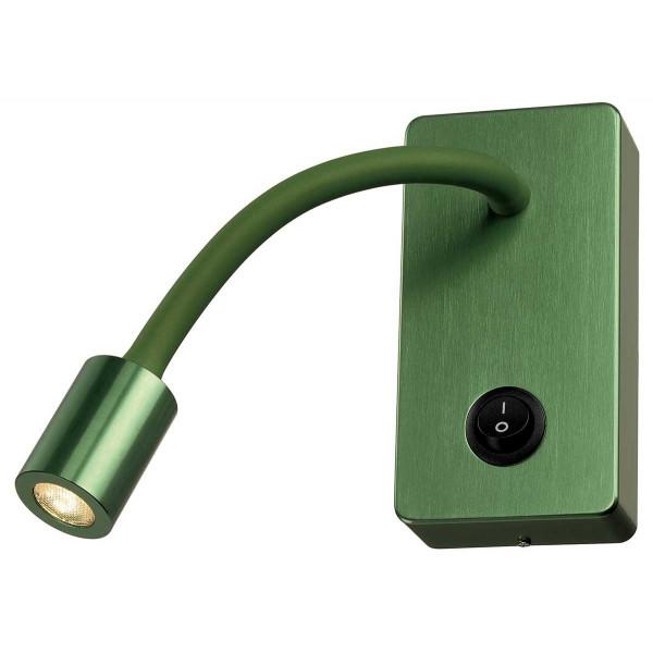 Applique liseuse verte