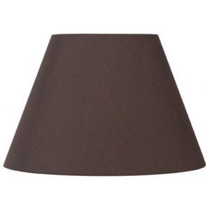 abat jour rond conique marron caf lampe avenue. Black Bedroom Furniture Sets. Home Design Ideas