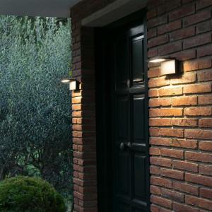 Applique porte d'entrée LED