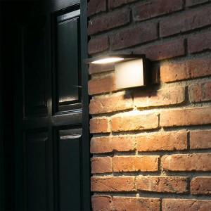 Eclairage porte d'entrée