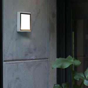 Applique extérieure panneau LED porte entrée