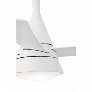 Ventilateur blanc avec lumière