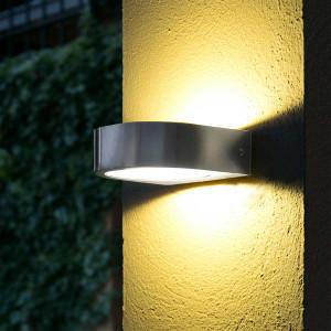 Applique extérieure LED inox