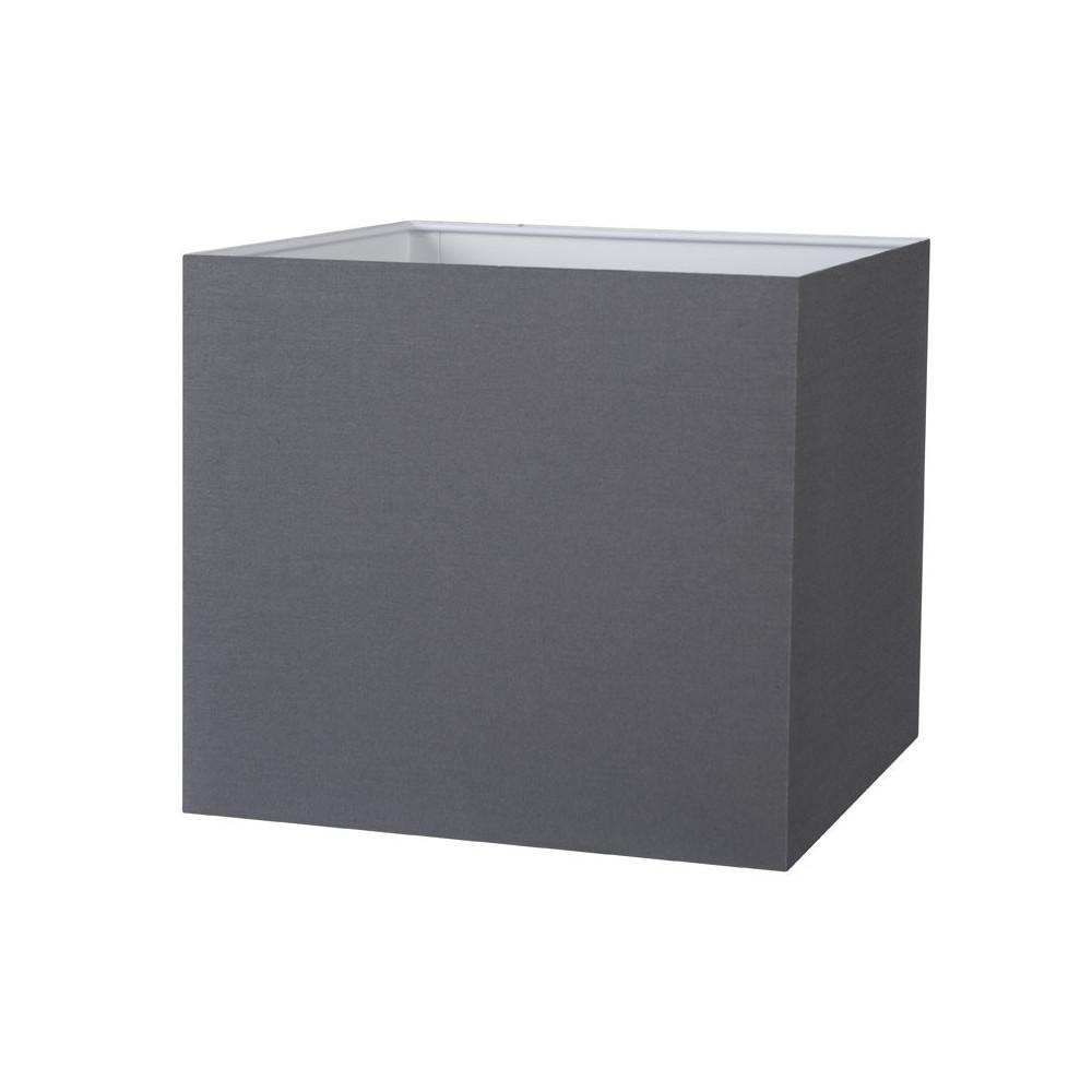 abat jour carr gris ardoise pas cher sur lampe avenue. Black Bedroom Furniture Sets. Home Design Ideas