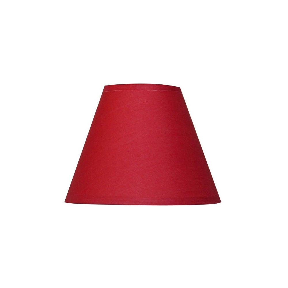 abat jour conique rouge. Black Bedroom Furniture Sets. Home Design Ideas