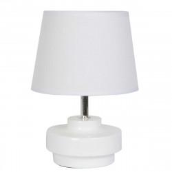 Petite lampe de chevet blanche