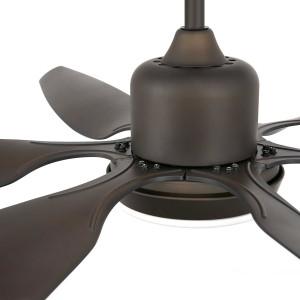 ventilateur plafonnier noir