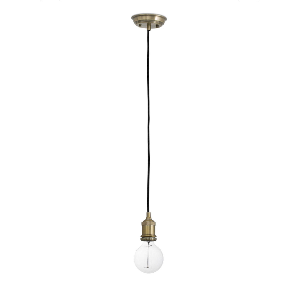 Suspension ampoule vintage couleur or en vente sur lampe for Ampoule suspension
