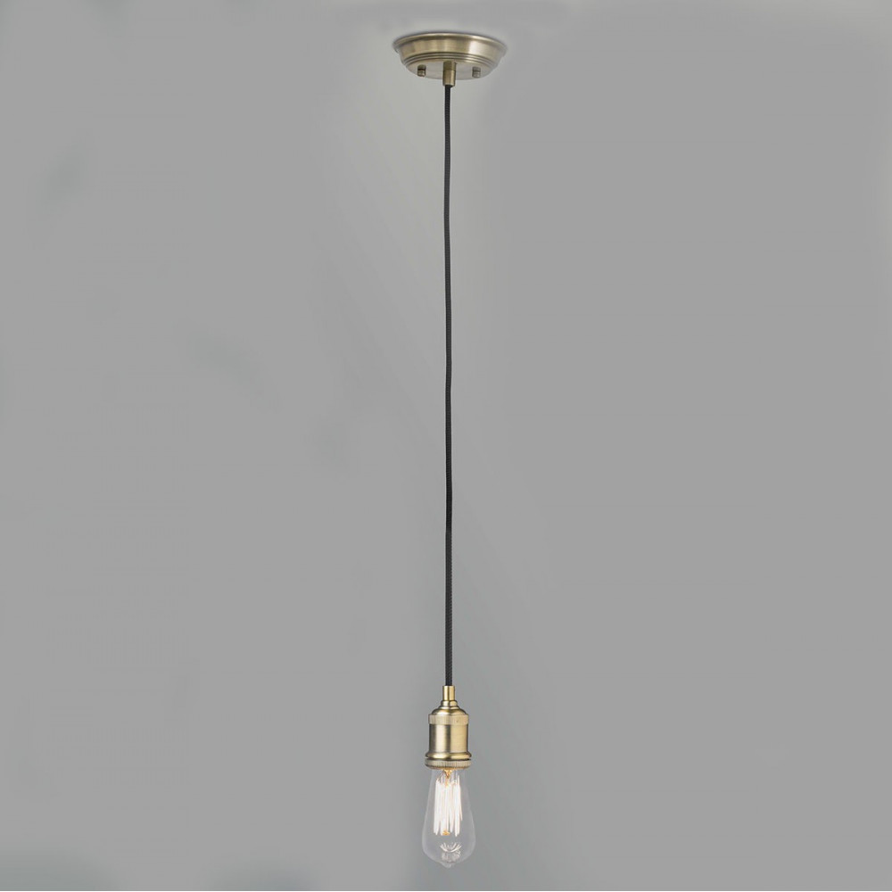 Suspension ampoule vintage couleur or en vente sur lampe for Ampoule suspension luminaire