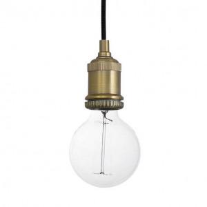 suspension ampoule vintage couleur or en vente sur lampe avenue. Black Bedroom Furniture Sets. Home Design Ideas
