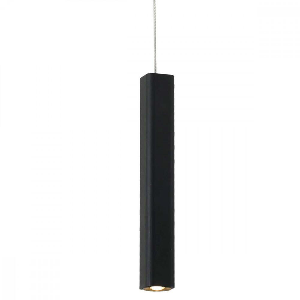 Suspension led noire design en alu en vente sur lampe avenue for Suspension exterieur led