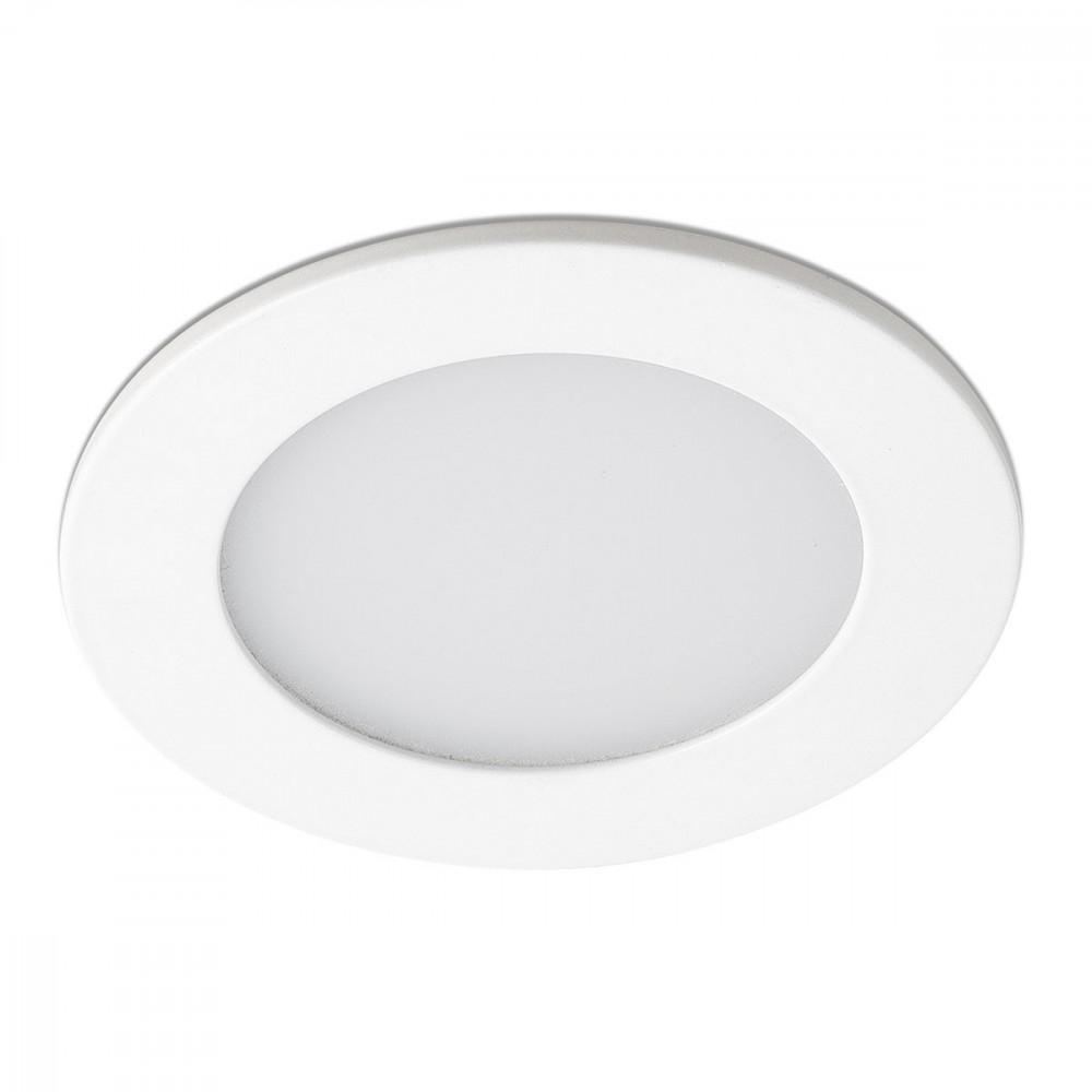 3 spots led encastrables blancs pour salle de bain lampe avenue. Black Bedroom Furniture Sets. Home Design Ideas