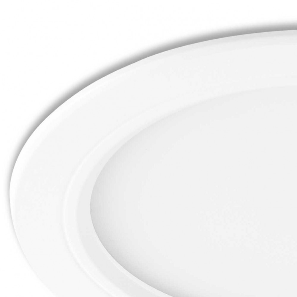 Grand spot led rond encastrable salle de bain lampe avenue for Lampe salle de bain ip65