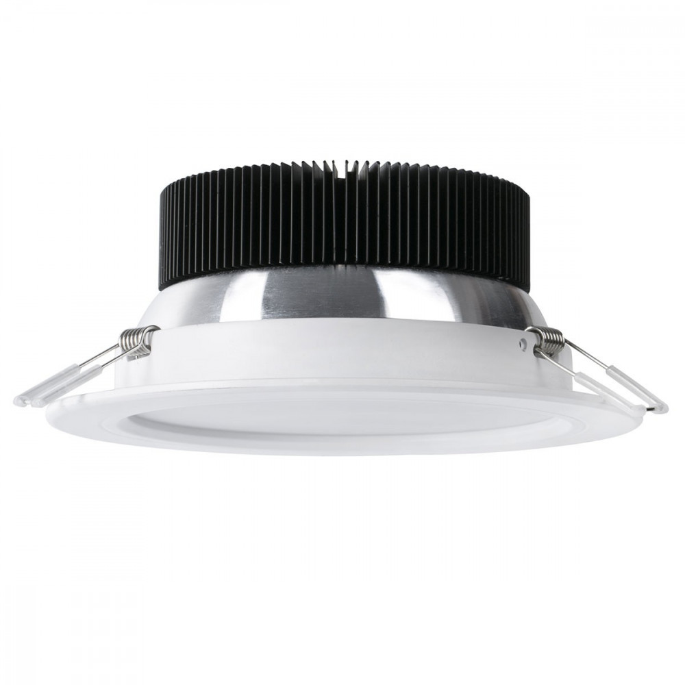 Grand spot led rond encastrable salle de bain   lampe avenue