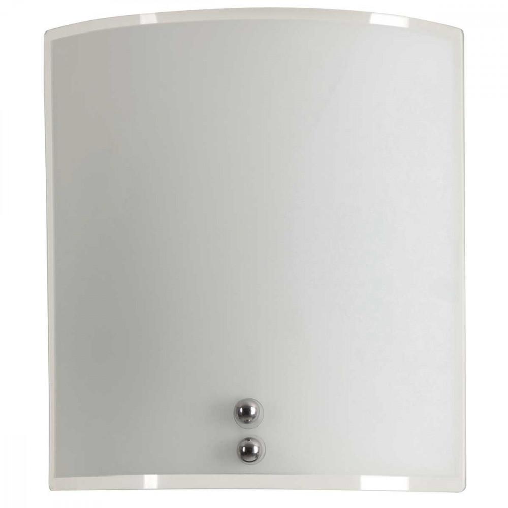 applique demi lune en verre imprim couleur blanche opale mat d co tendance lampe avenue. Black Bedroom Furniture Sets. Home Design Ideas