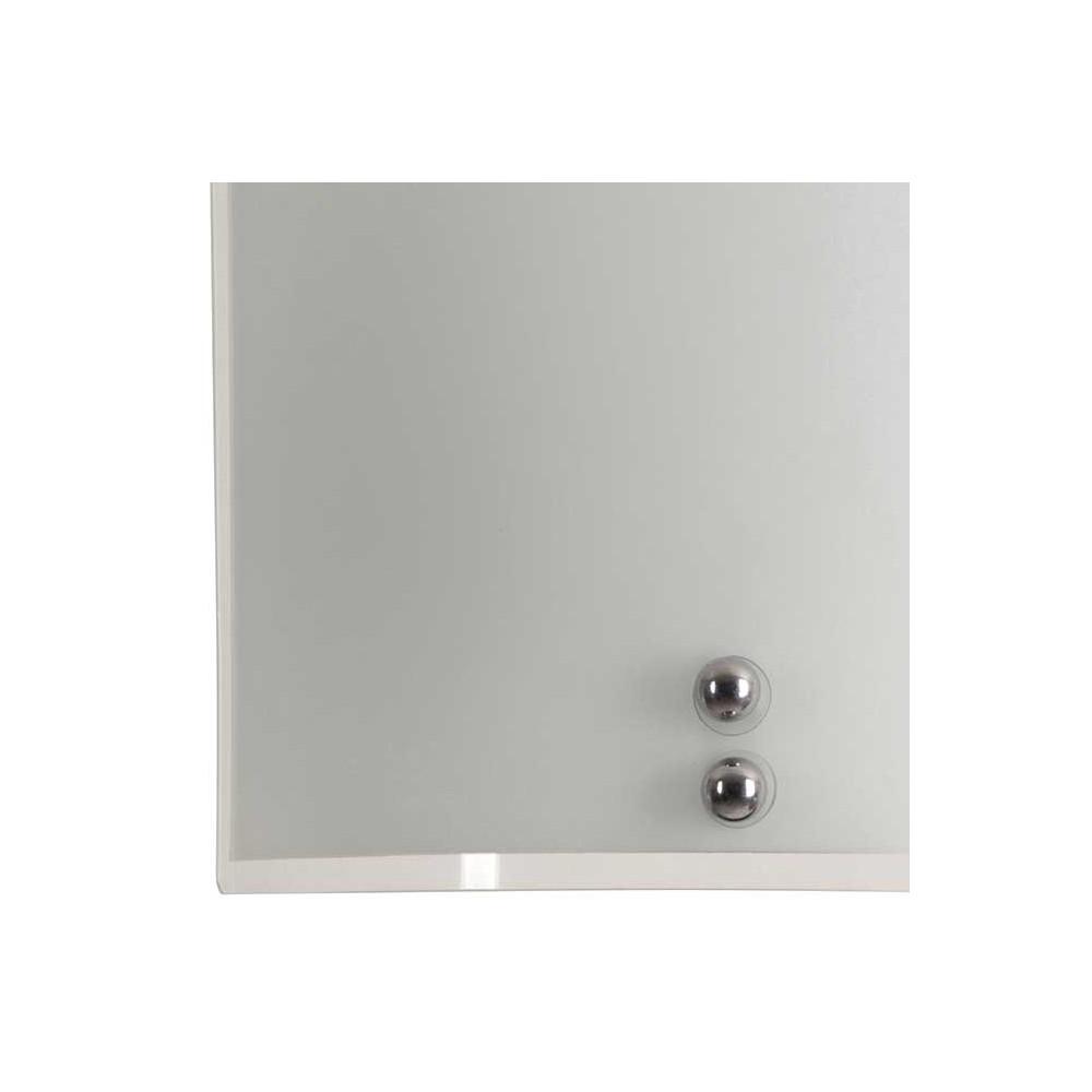 applique demi lune en verre imprim couleur blanche opale. Black Bedroom Furniture Sets. Home Design Ideas