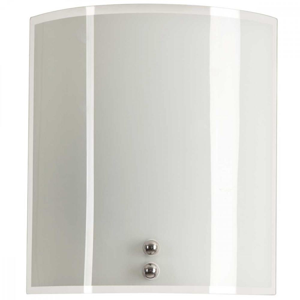applique demi lune en verre imprim couleur blanche d co moderne lampe avenue. Black Bedroom Furniture Sets. Home Design Ideas