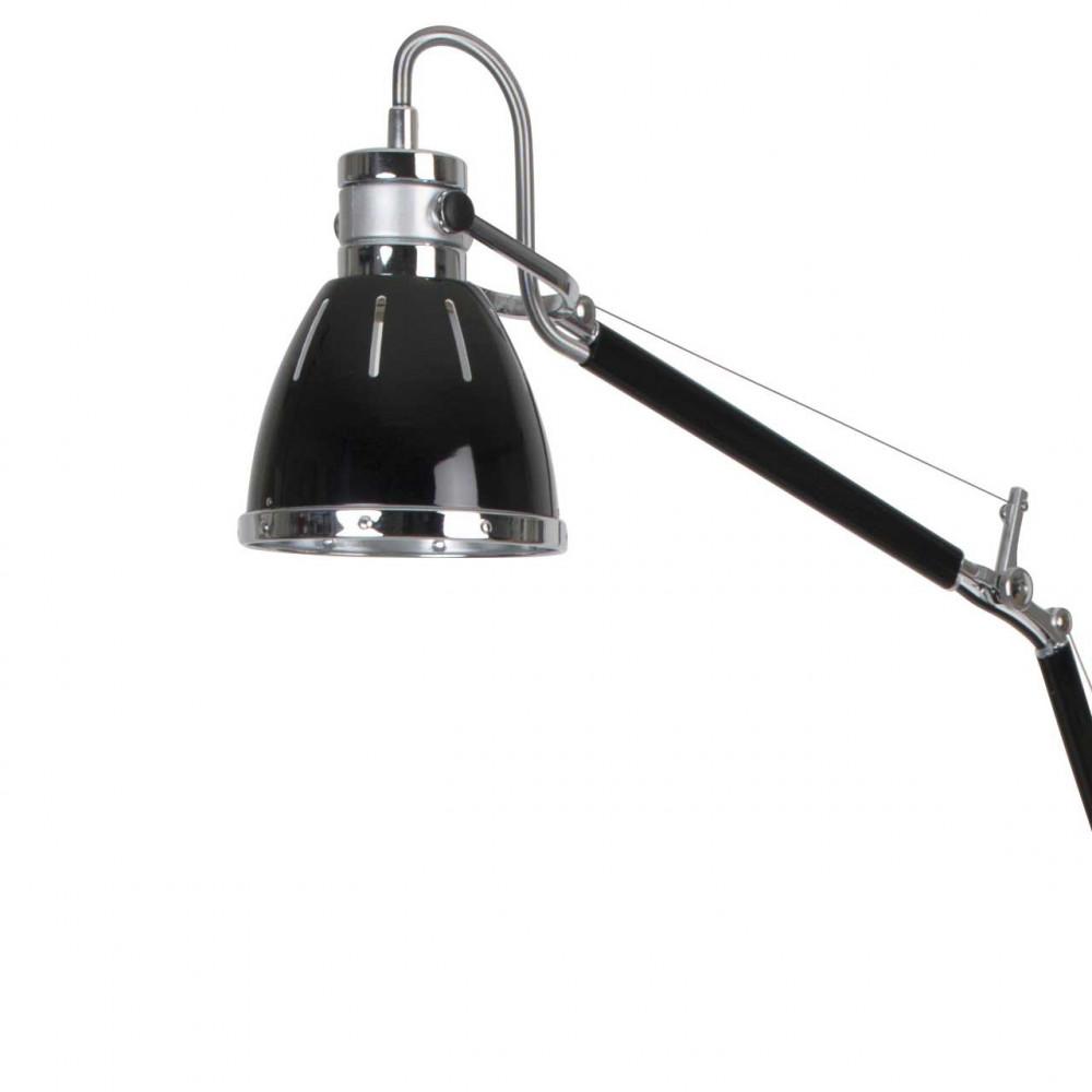 lampadaire bureau noir articul m tal et plastique pour une d co moderne sur lampe avenue. Black Bedroom Furniture Sets. Home Design Ideas