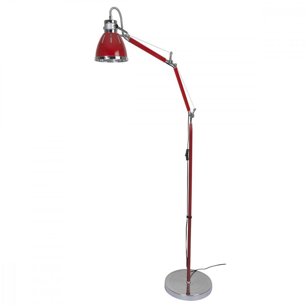 lampadaire bureau rouge articul m tal et plastique pour. Black Bedroom Furniture Sets. Home Design Ideas