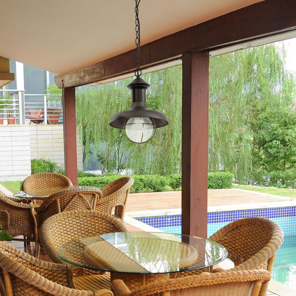 Suspension Style Marin Pour Terrasse Couverte Lampe Avenue