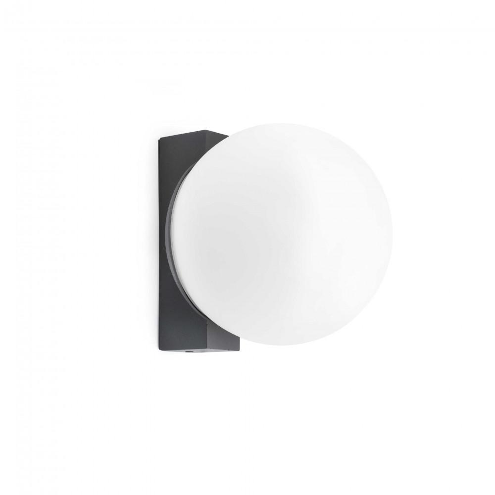 Applique led pour l 39 ext rieur forme boule sur lampe avenue for Lampe boule exterieur