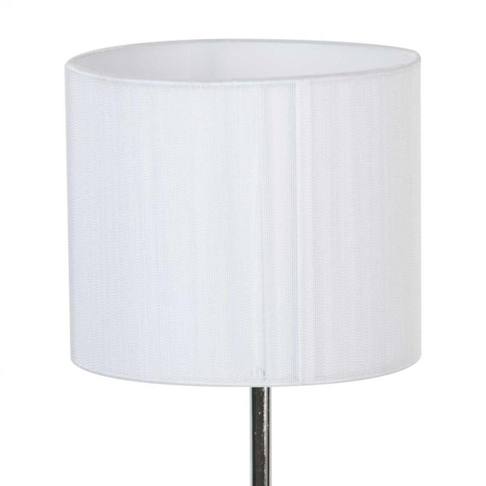 lampe poser en m tal avec abat jour blanc paillet style l gant a retrouver sur lampe avenue. Black Bedroom Furniture Sets. Home Design Ideas