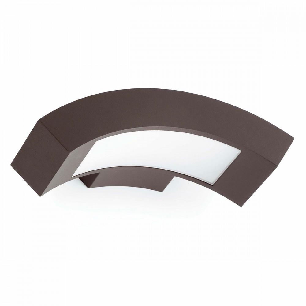 Applique led design alu gris pour l 39 ext rieur en vente for Lampe exterieur led design
