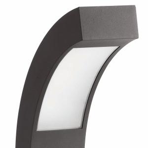 Balise design extérieur grise