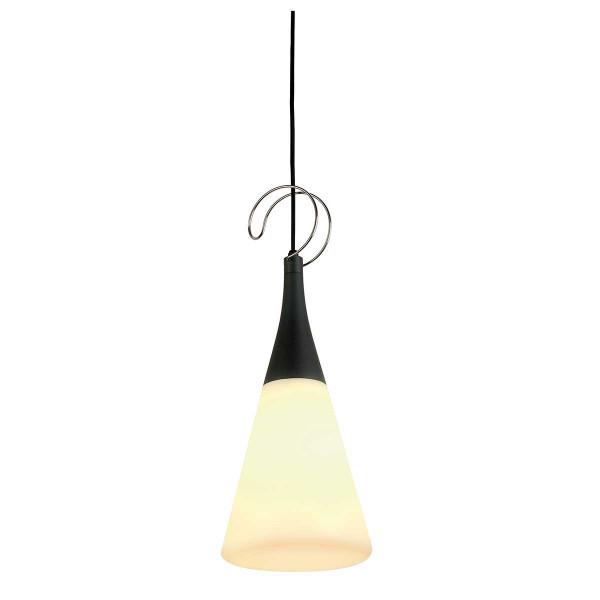 Lampe extérieure anthracite à suspendre