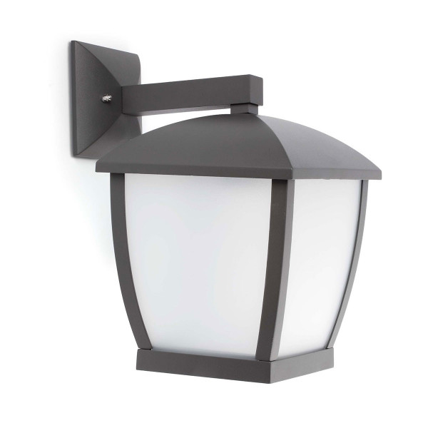 grande applique lanterne moderne pour ext rieur en vente. Black Bedroom Furniture Sets. Home Design Ideas