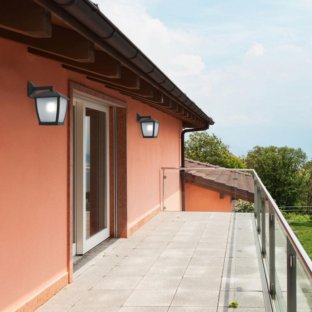 grande applique lanterne moderne pour ext rieur en vente sur lampe avenue. Black Bedroom Furniture Sets. Home Design Ideas
