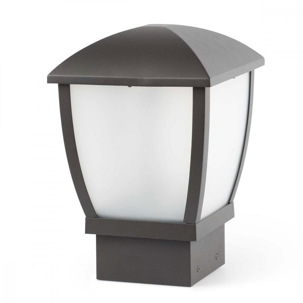 Borne lumineuse moderne pour jardin ou paring luminaire for Luminaire exterieur borne