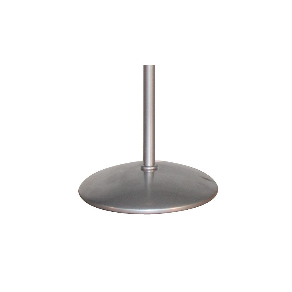 pied de lampe en alu 28cm en vente sur lampe avenue. Black Bedroom Furniture Sets. Home Design Ideas
